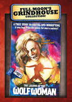 DVD The Legend of the Wolf Woman Grindhouse Horror Vintage Exploitation Movie