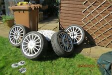"MG ZS / ZR 17"" multi spoke alloy wheels and Good  tyres"