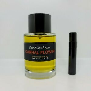 Frederic Malle - Carnal Flower - 5mL/10mL SAMPLE Glass Atomizer