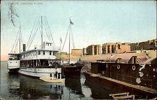 Louxor Luxor Landing Place 1911 Hafen Partie Schiff Ship Harbour Ägypten Afrika