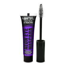 Paint Glow, Neon UV Eye Mascara, Intense Purple, Festival/Halloween Makeup
