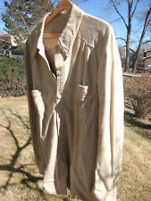 Vtg Cumberland Leatherware of England by Gloverall sz 46 suede button shirt-F/Sh