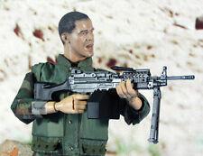Mk46 Mod 0 1:6 personnage Rifle étage Military m249 Light Machine Gun modèle mk46_c