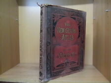 New General Atlas of the World by G.W.Bacon 1896 H/B *£3.25 UK P&P*