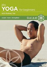 ABS YOGA for Beginners (DVD) Rodney Yee workout practice strengthen and tone NEW