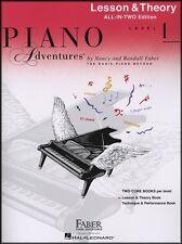 Le avventure di pianoforte lezione & teoria LIVELLO 1 Nancy & Randall FABER Music Book