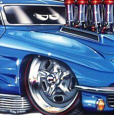 """""""63 Vette"""" 1963 Corvette New Embossed METAL """"Garage Decor"""" Sign"""