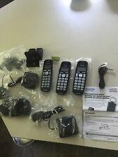 Panasonic KX-TG3634  Cordless Telephone With Answering Machine. 3 Handsets. NEW