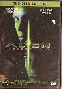Alien Resurrection DVD - Free Post
