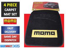 4 Pieza Alfombra Universal Resistente Coche Mat Set Negro Agarre antideslizante Esteras de van 93