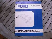 """Ford 48"""" Mower Attachment Lawn Tractor Owners Operators Manual Guide Book Set Up"""