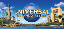 UNIVERSAL STUDIOS ORLANDO 2 PARK 2-DAY TICKET + 2 FREE DAYS (4-DAY) PROMO TOOL