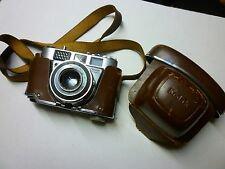Kodak Retinette 1B with 45mm 2.8 Lens & original case from 1959/60 good external