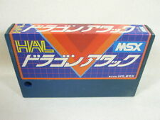 MSX DRAGON ATTACK HAL Cartridge Import Japan Video Game msx cart
