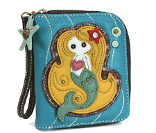 Charming Chala Magical Mermaid Purse Wallet Credit Cards Coins Wristlet