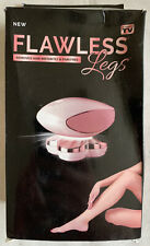 Flawless Legs White/Gold Rechargeable Shaver Remove Hair Instantly No Pain Women