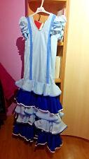 Traje de Sevillana - Andaluza - Gitana - Flamenco niña.