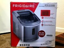 Frigidaire 26 lb Stainless Steel Portable Ice Maker, Self-clean, Efic-103-Amz-Sc