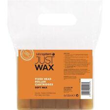 Salon System Just Wax Roller Head Cartridges Soft Wax Large Head (6)