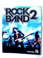 59725 Instruction Booklet - Rock Band 2 - Sony PS3 Playstation 3 (2008) BLES 003