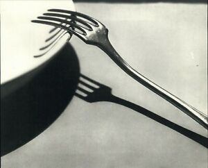 1928 1972 Andre Kertesz Fork Plate Study Paris Art Photo Photogravure