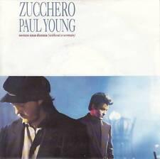 Zucchero feat. PAUL YOUNG-SENZA UNA DONNA/MAMMA (vinile-Single 1991)!!!