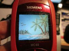 Siemens  MC 60 rosa/rot  Heft D + GB Simfrei + Ladeteil super ok gebr Art Nr 51E