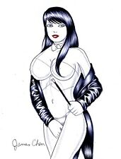 ZATANNA ORIGINAL COMIC ART COLOR SKETCH 04