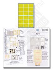 Echelon FD D356153, 1/35 Decals for FDI tourelle Tactique marques (set 4) - Masques