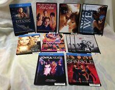 12 Movie Backer Cards; Romantic, Entertainment, Musical, Award Winners Lot 012