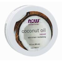 NOW Foods Coconut Oil, 3 fl. oz.