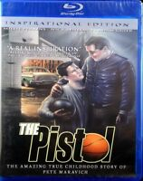 The Pistol NEW Blu-ray Inspirational Edition True Childhood Story Pete Maravich