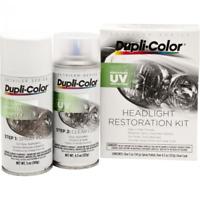 Dupli-Color EHLR100 Headlight Restoration UV Protection Spray Clear Coating Kit