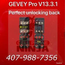 Gevey Pro V13.3.1 Iccid Mnc Unlock Sim Card iPhone11 Pro Xr X 8 7 6S Ios 13.3.1