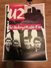 U2 The Unforgettable Fire Poster