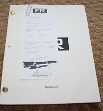 ER TV SERIES SHOW SCRIPT EPISODE  AMBUSH THE LIVE SHOW
