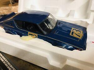 Kyosho 1/18 NISSAN SKYLINE GT-R2000 Blue Metallic KPGC110 Presentation 1972, NEW
