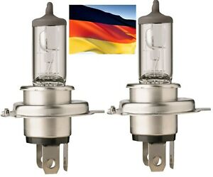 Flosser Rally 9003 HB2 H4 100/90W 725543 Two Bulbs Head Light High Low Off Road