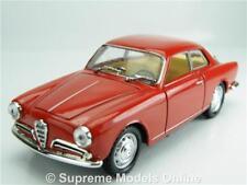 SOLIDO ALFA ROMEO GIULIETTA SPRINT CAR MODEL 1:43 SIZE RED SPORTS T34Z