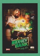 2012 Topps WWE World Class Events Money In The Bank Big Show Hornswaggle #2