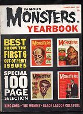 Famous Monsters Yearbook #1 Vg+ Summer/Fall 1962 Warren