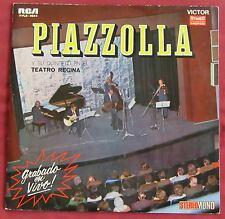 PIAZZOLLA Y SU QUINTETO  LP ORIG ARG EN EL TEATRO REGINA