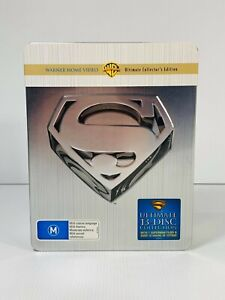 Superman: The Ultimate Collection   DVD Movie Films   13-Disc Box Set Super Man