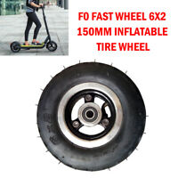 F0 Fast Wheel 6X2 150mm Inflatable Tire Wheel for Electric Longboard Scooter