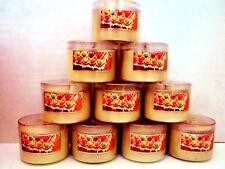Bath Body Works Slatkin GINGERBREAD Candles, Mini, 1.6 oz., NEW x 10