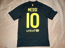 RARE Barcelona #10 MESSI shirt S jersey camiseta 2011 2012 Away
