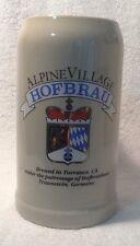 Alpine Village Hofbrau Beer Mug - Made In Germany By Rastal