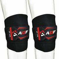 BLACK HEAVY DUTY KNEE PADS MMA /& ALL SPORTS SIZES SMALL only