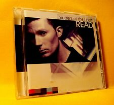 NEW CD Read Matters Of The Heart 11TR 2000 Euro House Pop