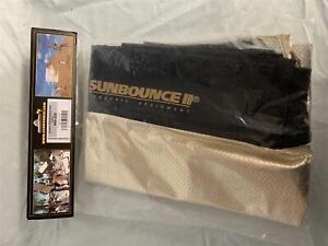 California Sunbounce 4' x 6' Pro Zebra/White Light Shade Screen #000-220 - NEW